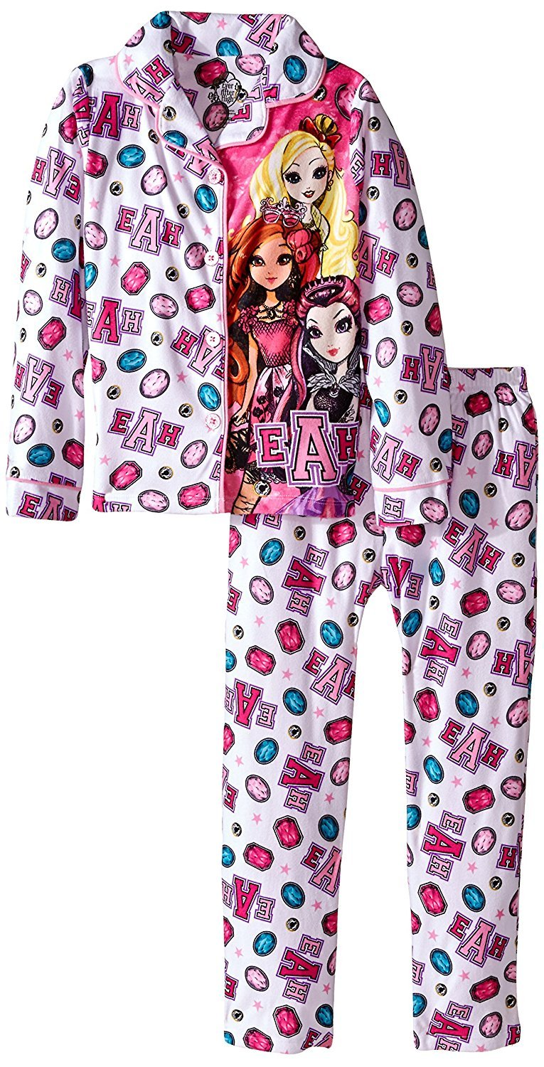 Ever After High Big Girls' BMJ Coat Set, White, Small