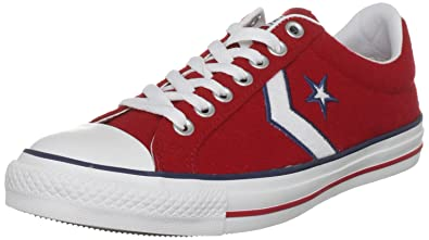 87f18ca2340e Converse Unisex-Adult Star Player EV OX 117570 Red Trainer 6 UK ...