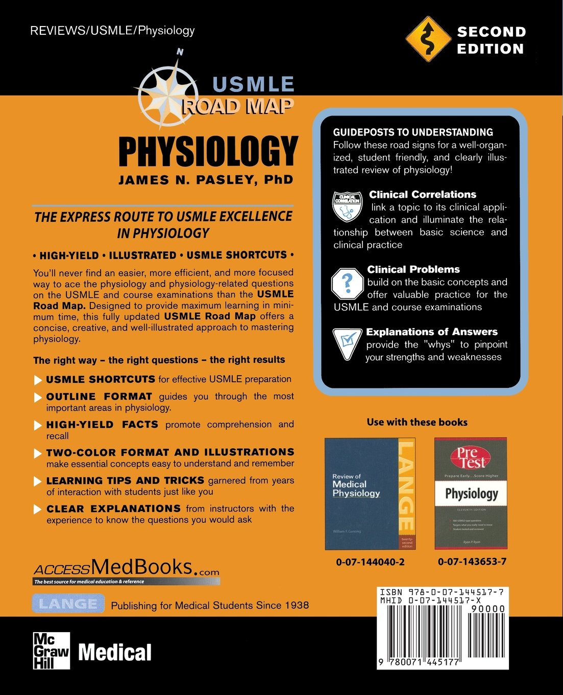 Usmle Road Map Physiology Second Edition James N Pasley
