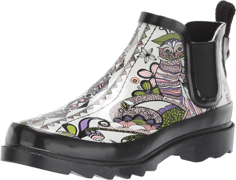 The Sak Women's Sakroots Rhyme Ankle Rainboot Rain Boot