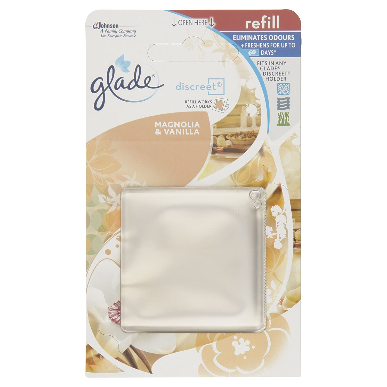 Glade Discreet Vanilla Refill, 8 g SCL4K