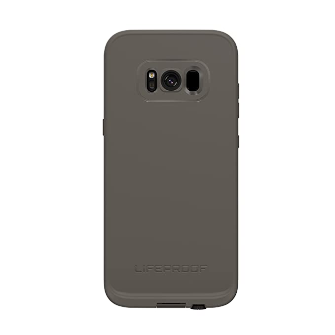 huge discount ecf9a 773a7 Lifeproof FRĒ SERIES Waterproof Case for Samsung Galaxy S8 (ONLY) - Retail  Packaging - SECOND WIND (DARK GREY/SLATE GREY/LIME)