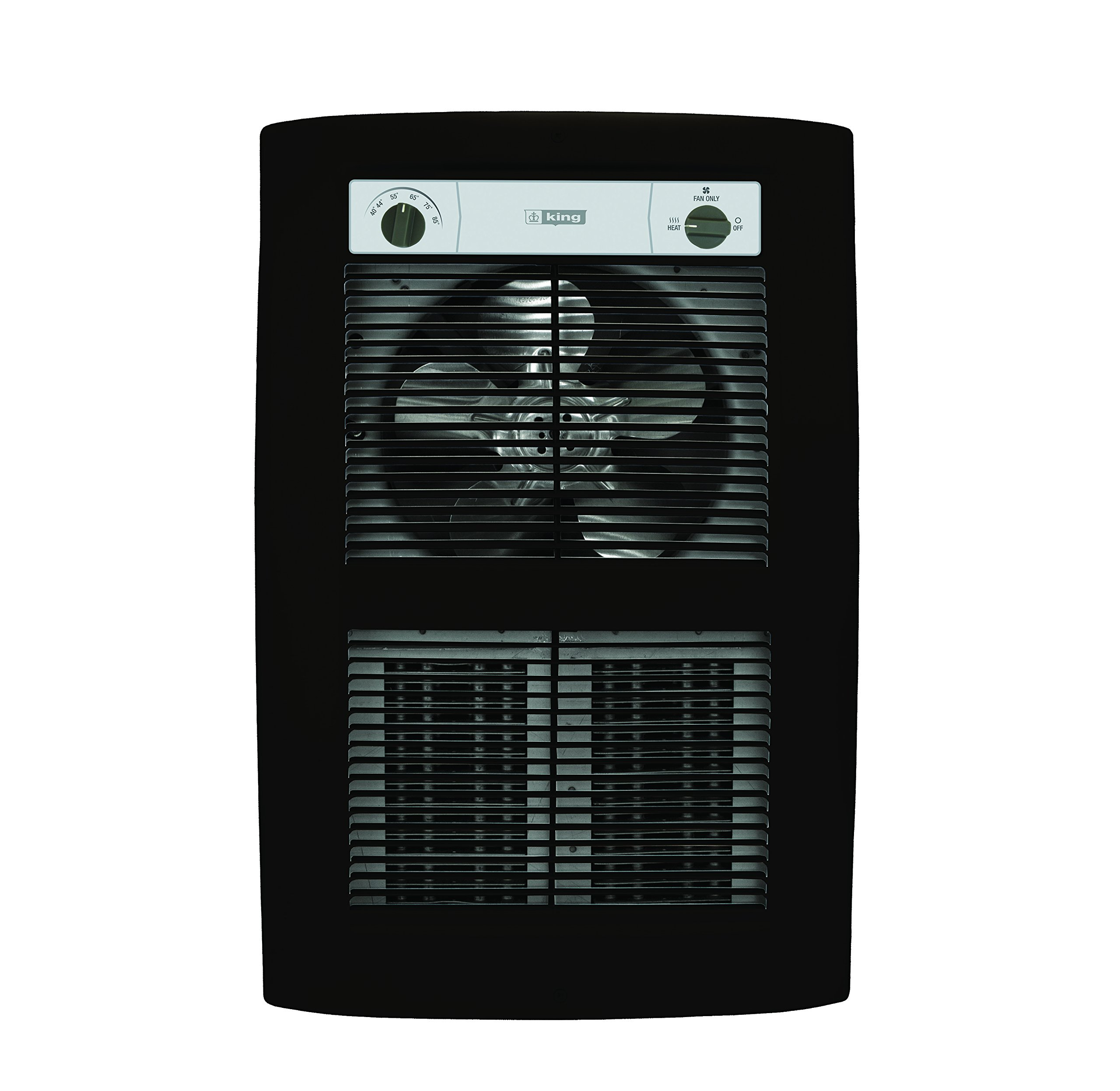 King Electric LPW2445T-S2-OB-R 4500W 240V Large Pic-a-Watt Series 2 Decorative Wall Heater, Oiled Bronze by King Electric