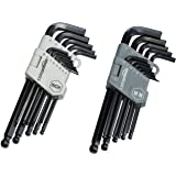 AmazonBasics Hex Key / Allen Wrench Set with Ball End - 26 Piece