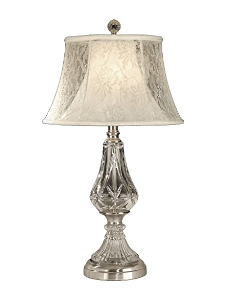 Dale tiffany gt10227 crystal table lamp chrome and fabric shade dale tiffany gt10227 crystal table lamp chrome and fabric shade aloadofball Image collections