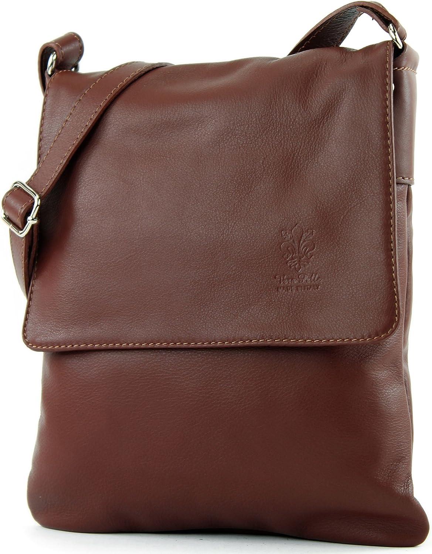 modamoda de /épaule ital//sac /à bandouli/ère en cuir T164