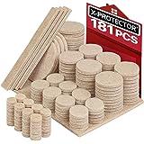 Amazon.com: Almohadillas protectoras de muebles en paquete ...