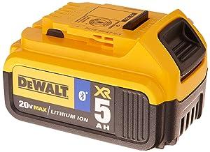 DEWALT 20V MAX Battery, Bluetooth 5.0Ah Double Pack (DCB205BT-2)