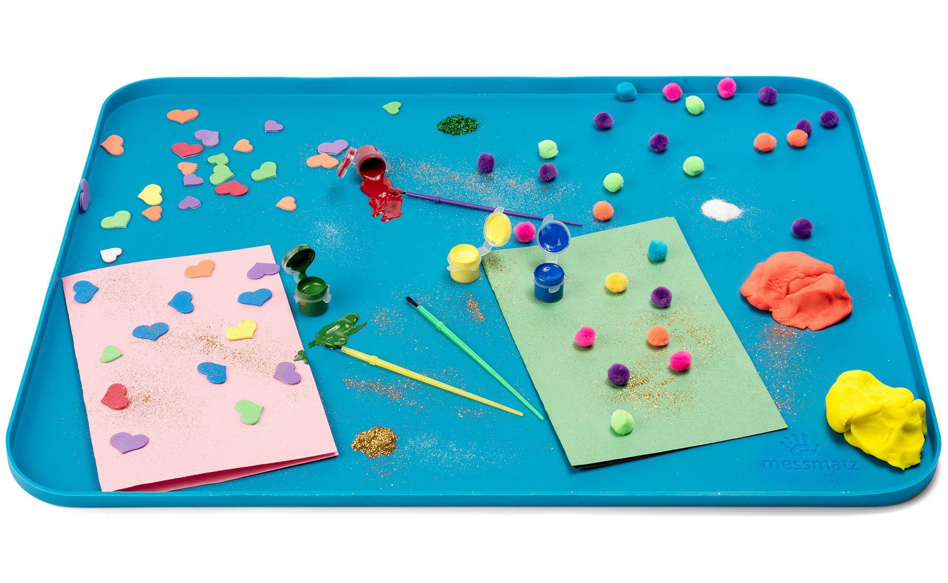 PlaSmart MM0B Messmatz - Blue, kindergarten Grade to 3 Grade