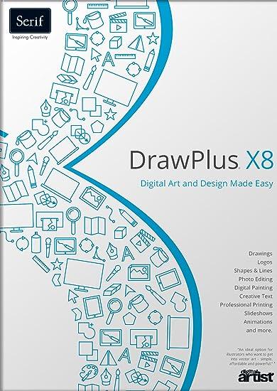 Amazon Com Us Serif Software Drawplus X8