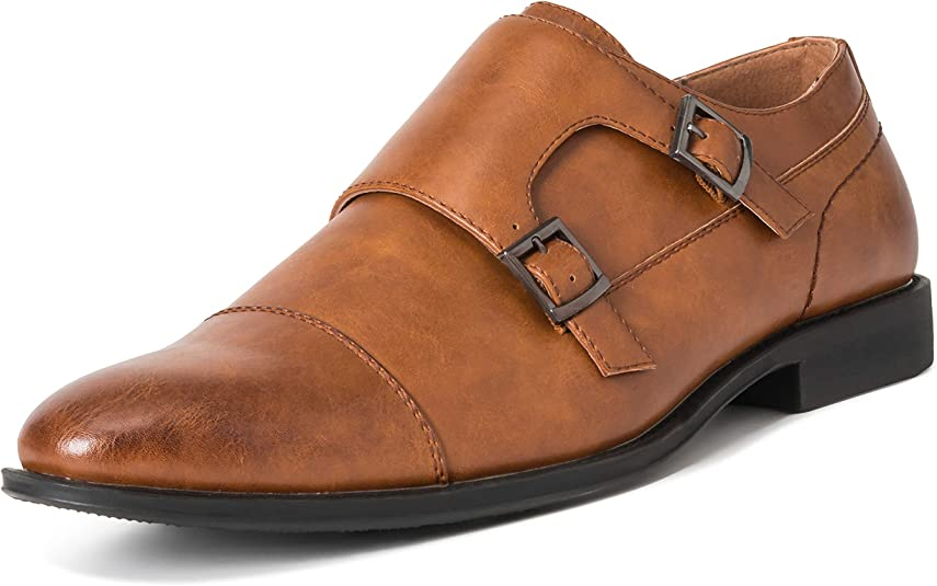TALLA 44 EU. Hombre Queensberry George Cuero Formal Trabajo Oficina Inteligente Correa De MEnje Zapatos