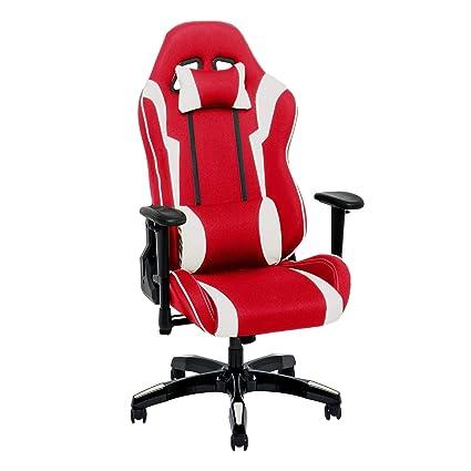 Tremendous Amazon Com Corliving Red And White High Back Ergonomic Ibusinesslaw Wood Chair Design Ideas Ibusinesslaworg