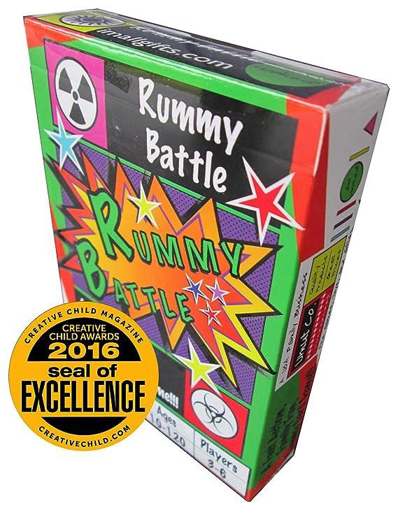 Umut Company Juego de Cartas de Batalla Rummy: Amazon.es: Juguetes ...