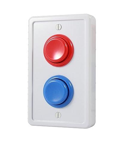 Amazoncom Arcade Light Switch Plate Cover Single Switch White