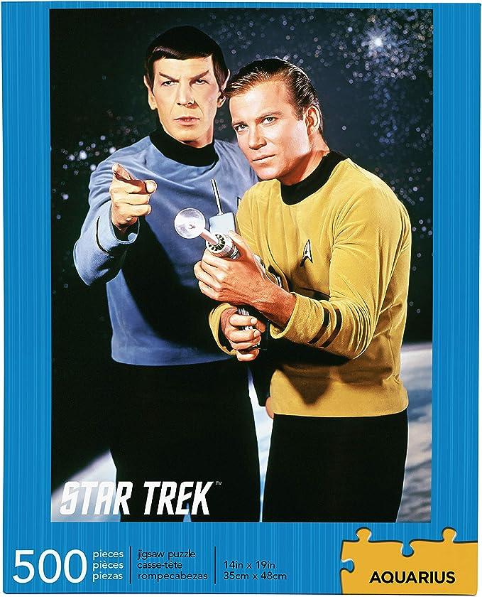 Star Trek Spock & Kirk 500 pc Puzzle