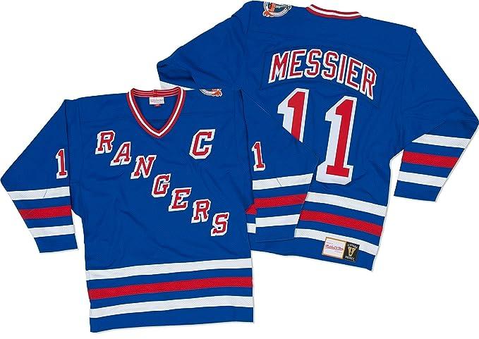 finest selection 4dfed 0f454 Amazon.com : Mitchell & Ness Mark Messier New York Rangers ...