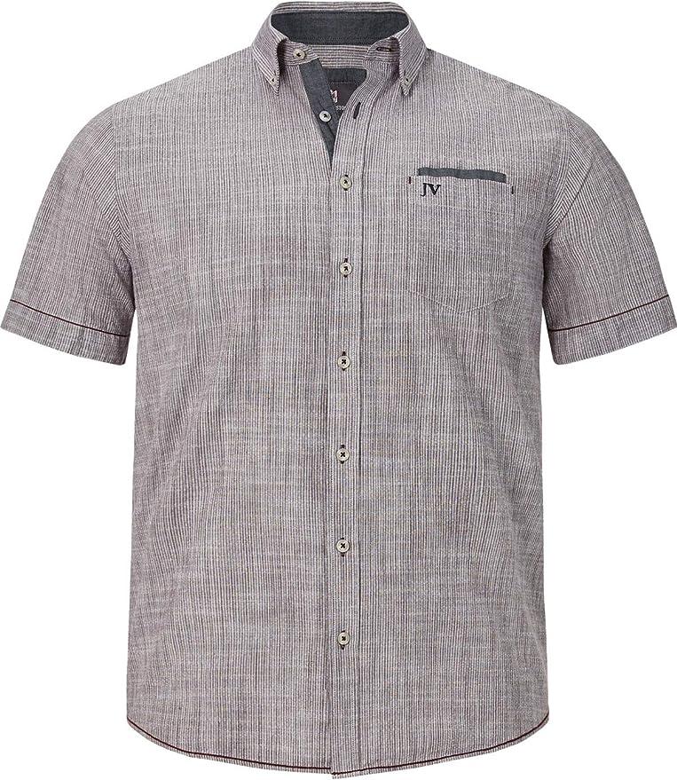 Jan Vandertac Milos - Camisa de manga corta para hombre