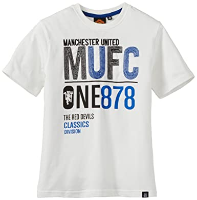 44c876436027a Manchester United Boys T - Shirt: Amazon.in: Clothing & Accessories