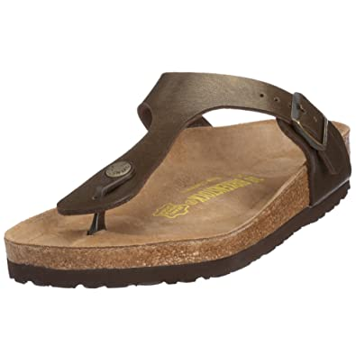 63049dc3315c Image Unavailable. Image not available for. Color  Birkenstock Gizeh Birko-Flor  Sandal - Women s ...
