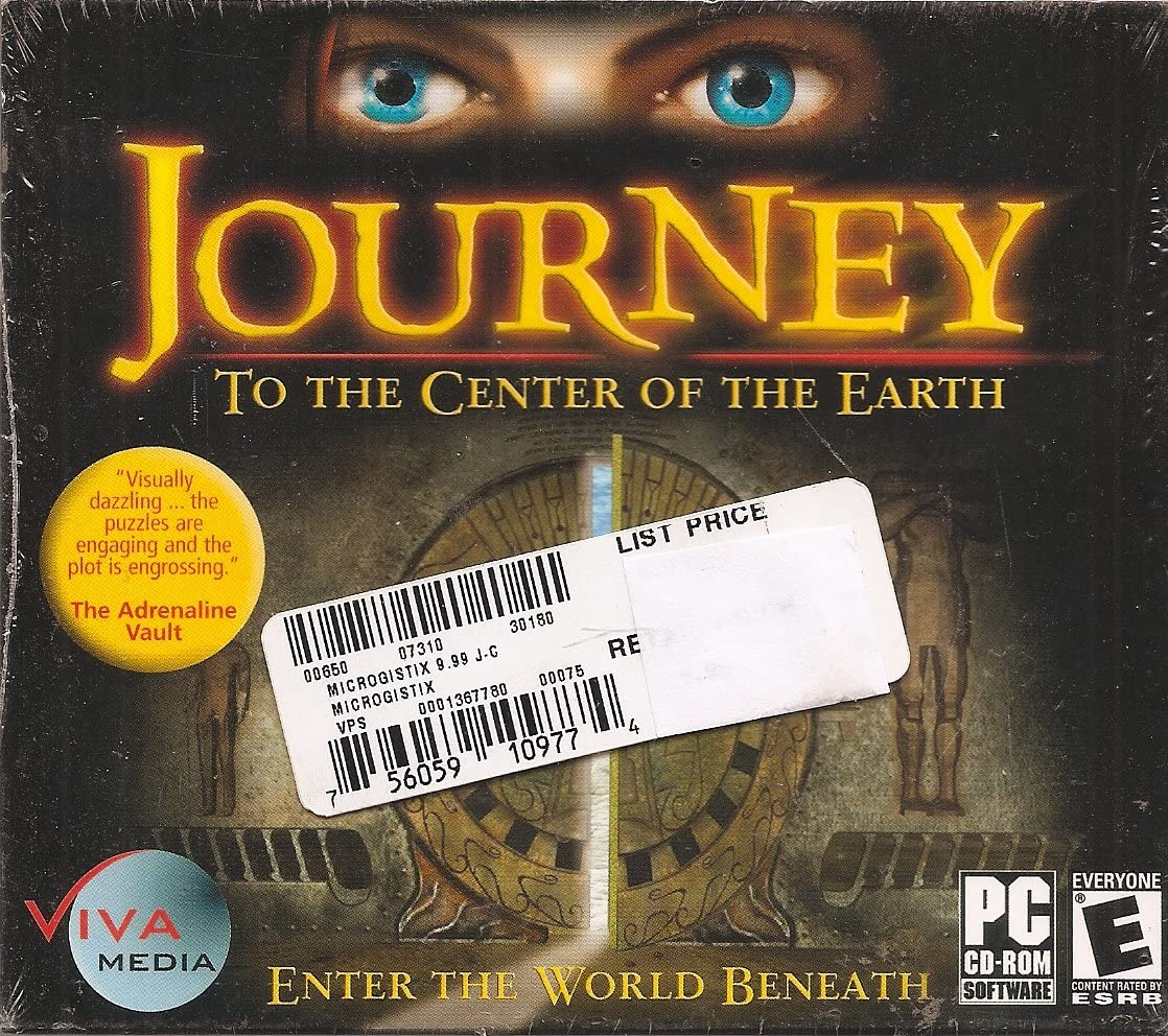 Amazon com: Journey to the Center of the Earth (PC CD-ROM) Enter the