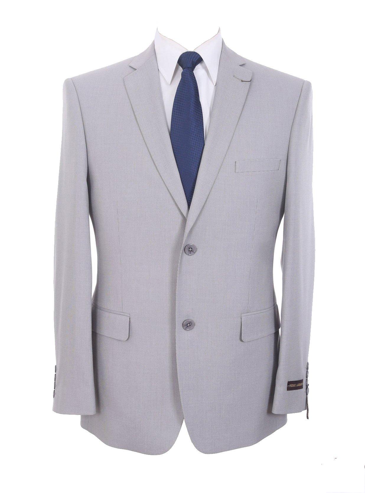 P&L Men's Classic Fit Casual Two Button Blazer Jacket