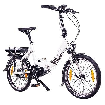 leisger® F4 20 pulgadas bicicleta eléctrica, E de bicicleta plegable, klappard,
