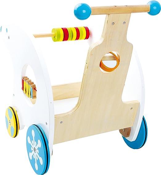 Cochecito andador oso polar andador con ruedas de goma,diversión ...