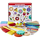 Kids Projects - Kid Made Modern Foodie Craft Kit - Arts and Crafts Food Themed Kit - Over 100 Pieces
