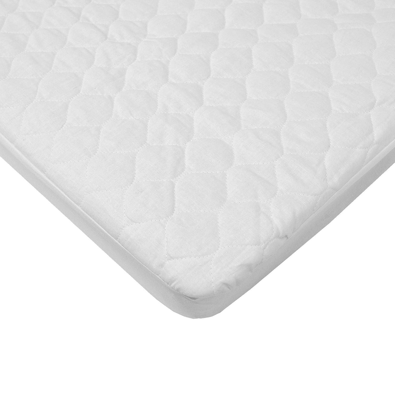 Amazon.com : Impermeable acolchado de algodón cuna Tamaño ...