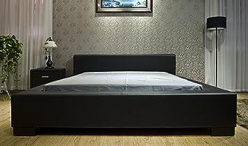 black modern platform bed. Greatime B1142 Eastern King Black Modern Platform Bed