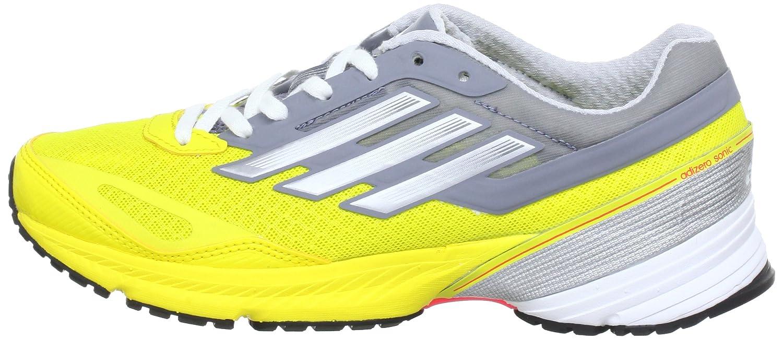 new style bfb7d b7c44 adidas Adizero Sonic 4 G65164, Damen, Gelb (Vivid Yellow S13  Metallic  SilverTech Grey F12), EU 40 (UK 6.5) Amazon.de Schuhe  Handtaschen