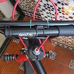 Cykeway Mini Bomba para Bicicletas de Carretera | con la Manguera ...