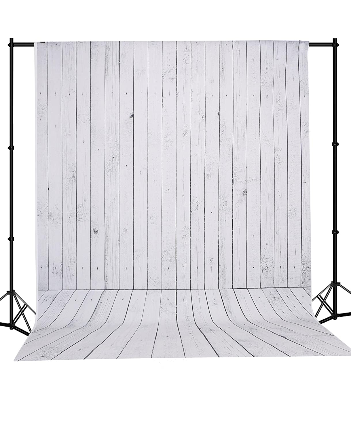 Mehofoto Seamless Vinyl Photo Backdrop Vintage Wood Photography Background Red Wood Backdrop 5× 7ft (S-1103) 4332283226