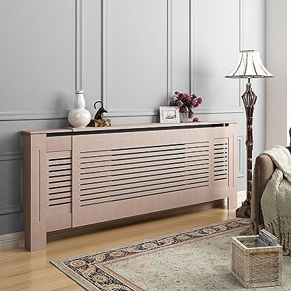 Decopana - (140-203 x 81.5 x 19cm) Cubierta de Radiador Calefactor Panel