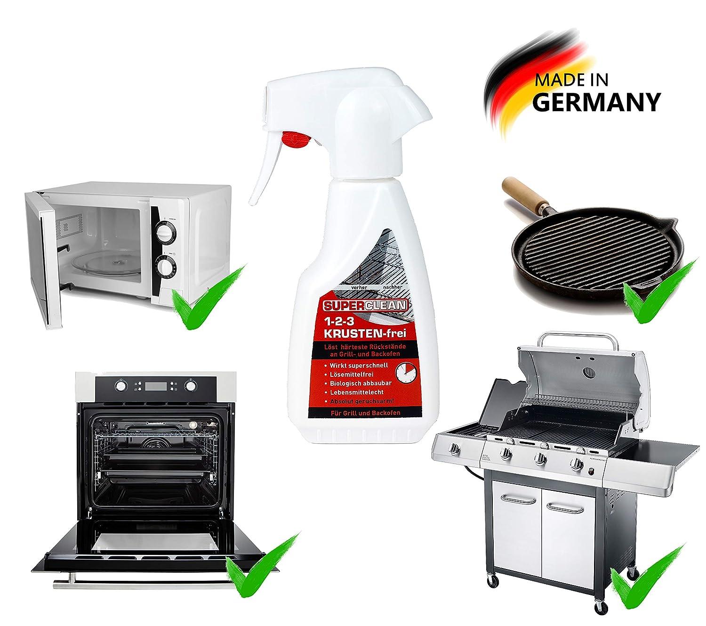 Barbacoa y horno limpiador 1 – 2 de 3 gratinados libre de 250 ml spray. Efecto Completo y schonend. löst eing ebranntes y härteste verkrustungen en el ...