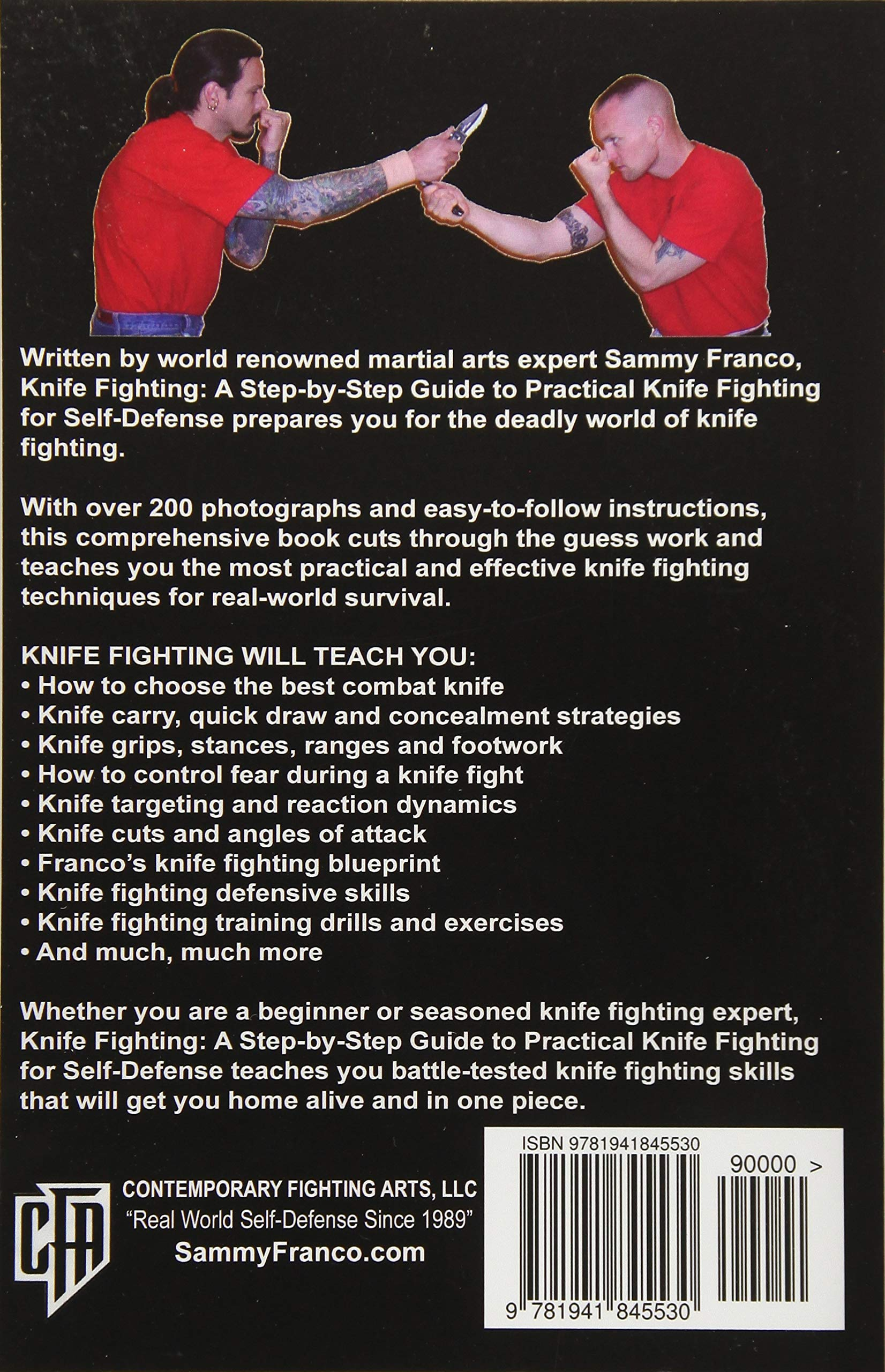 Amazon com: Knife Fighting: A Step-by-Step Guide to Practical Knife