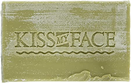 Kiss My Face Soap Bar Olive Aloe 8 Ounce 235ml 6 Pack