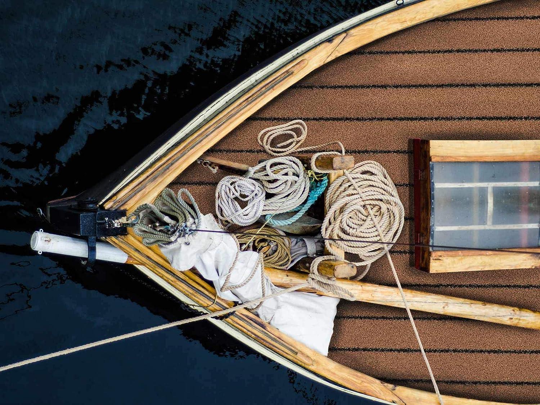 2,00m x 1,50m Bodenbelag f/ür Boot Yacht Kunstrasen Kunstrasenteppich TEAK Holzoptik Teakholz-Optik Faux Teak