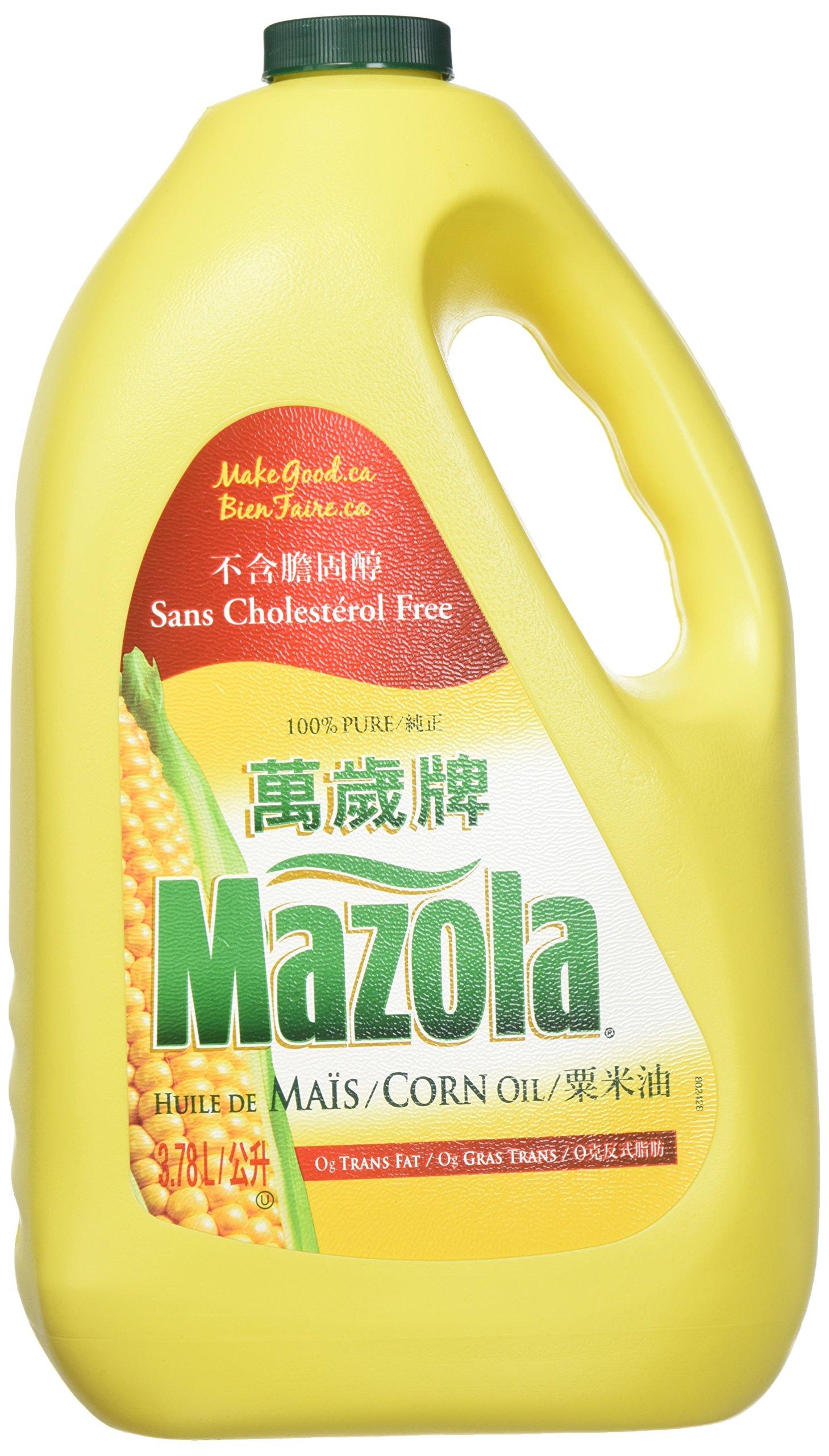Mazola, Corn Oil, 3.78 Liter(ltr) by Mazola
