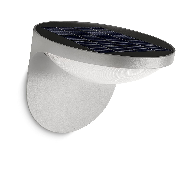 Philips myGarden Dusk - Aplique para exterior, LED, con sensor de movimiento, aluminio, color antracita 915004347701 178089316_Antracite apliques iluminacion