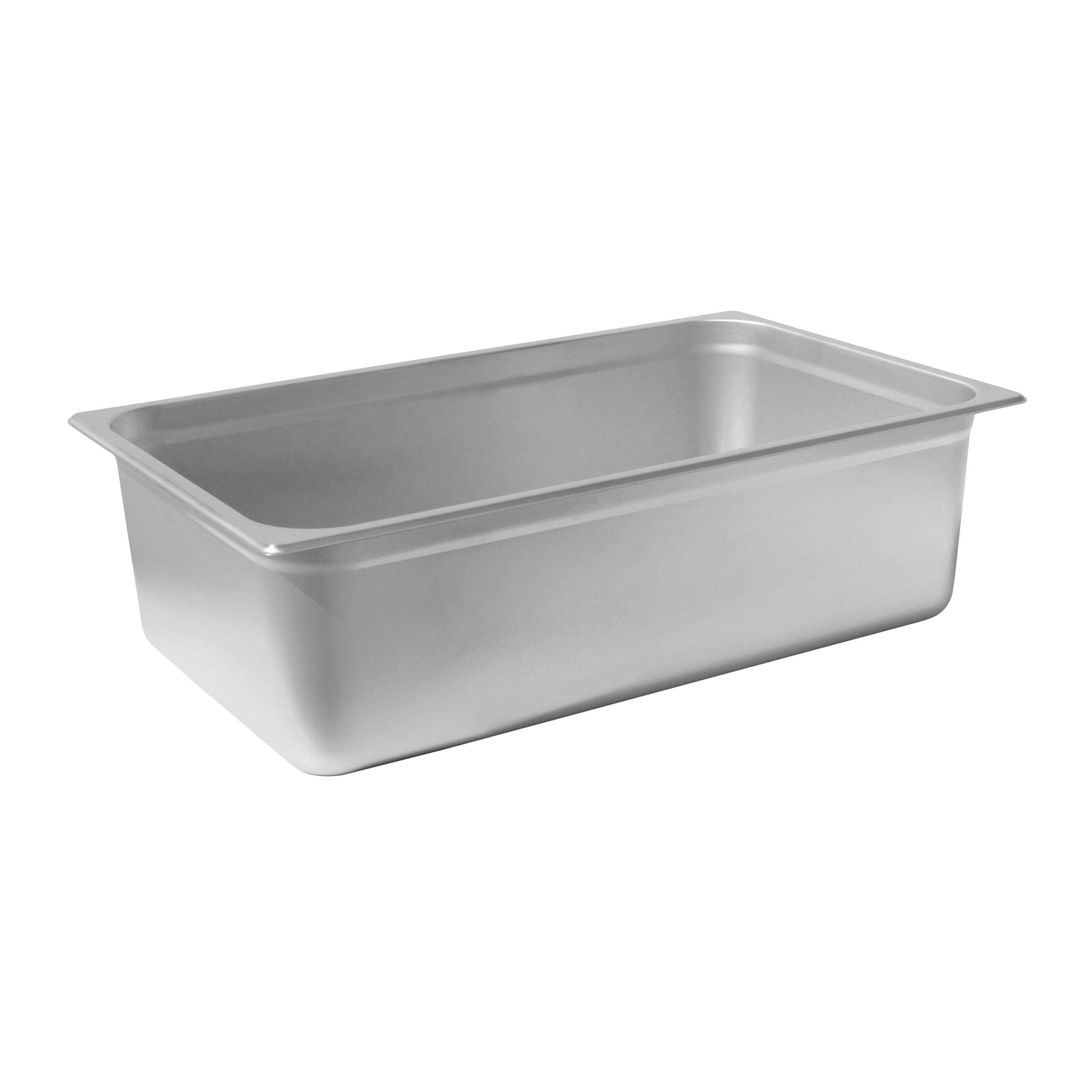 Chef's Supreme - 6'' Full Size Stainless Steam Table Pan by Chef's Supreme