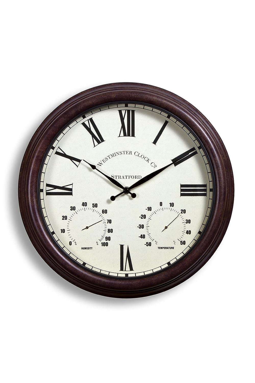 [プリムローズロンドン] Primrose London 屋外ガーデン用壁掛け時計 38cm (15
