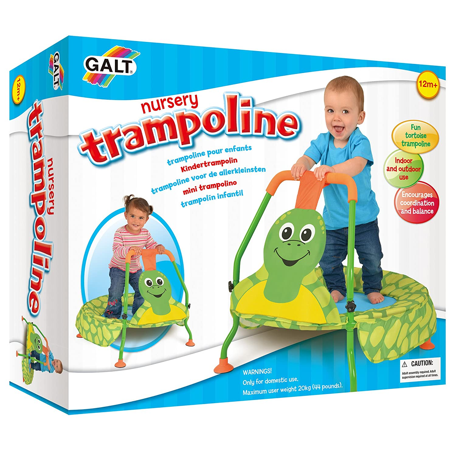 Amazon Galt Toys Nursery Trampoline Toys & Games