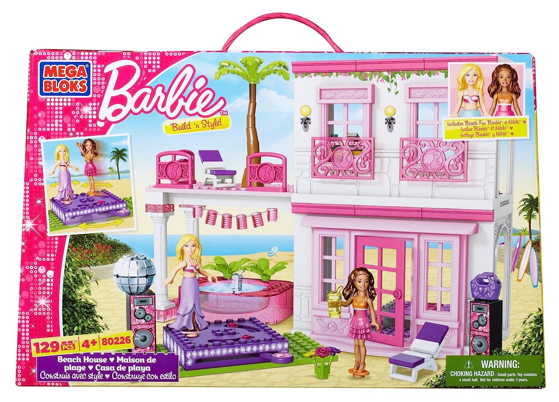 Delightful Beach House Barbie Part - 1: Amazon.com