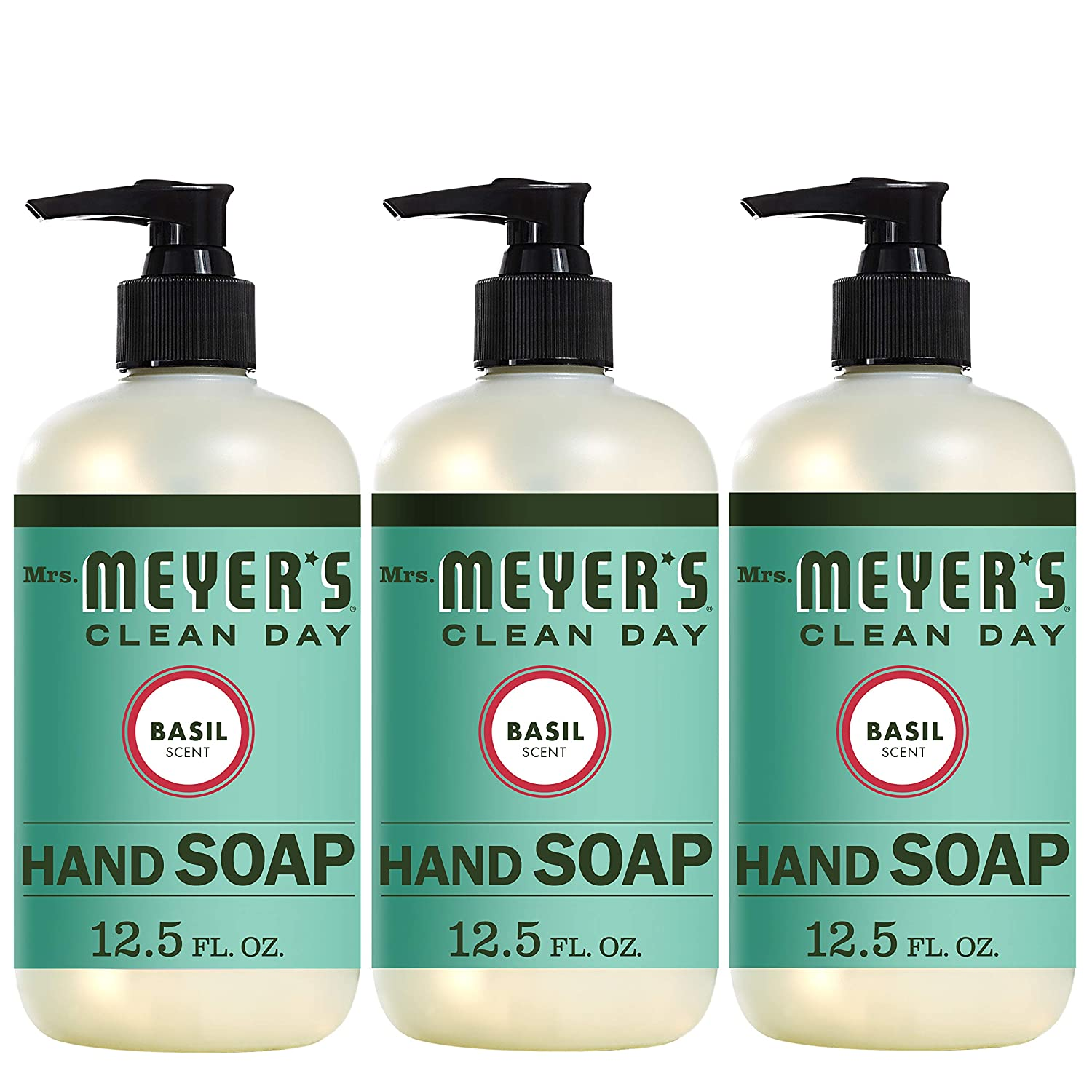 Mrs. Meyer´s Clean Day Hand Soap, Basil