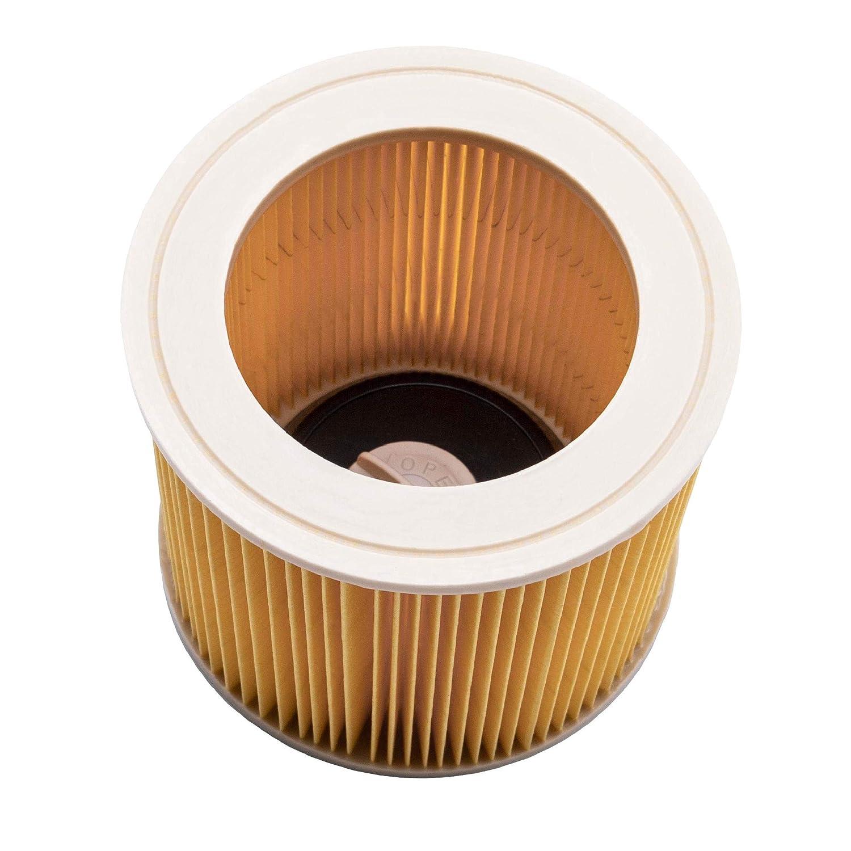 10 Staubbeutel für Kärcher A 2554 Me  Staubsaugerbeutel Filter Staubfilter