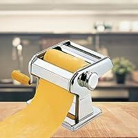 FRX Hochwertige Edelstahl Nudelmaschine 7 Nudelstärken Manuell Pastamaschine Nudel Maschine Pasta Maker