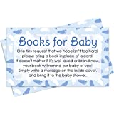 Books For Baby Request Cards   Boy Baby Shower Invitation Inserts (20 Count)