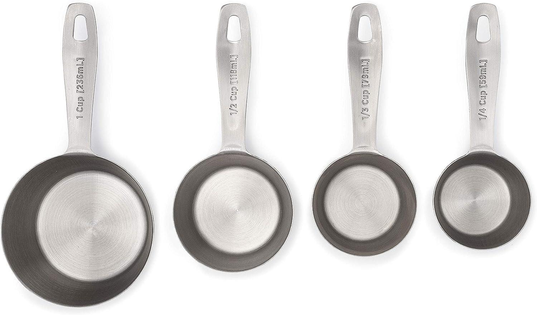 Frigidaire 11FFSSCP01 ReadyPrep Measuring Tools, 4, Metal, 4 Pieces