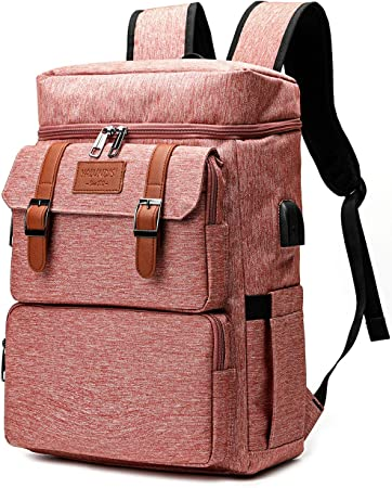 Travel Laptop Backpack,Psychedelic Vaporwave Pine On Retro Background WaterResistant College School Computer Bag Gifts for Men /& Women Fits 17 Inch Notebook